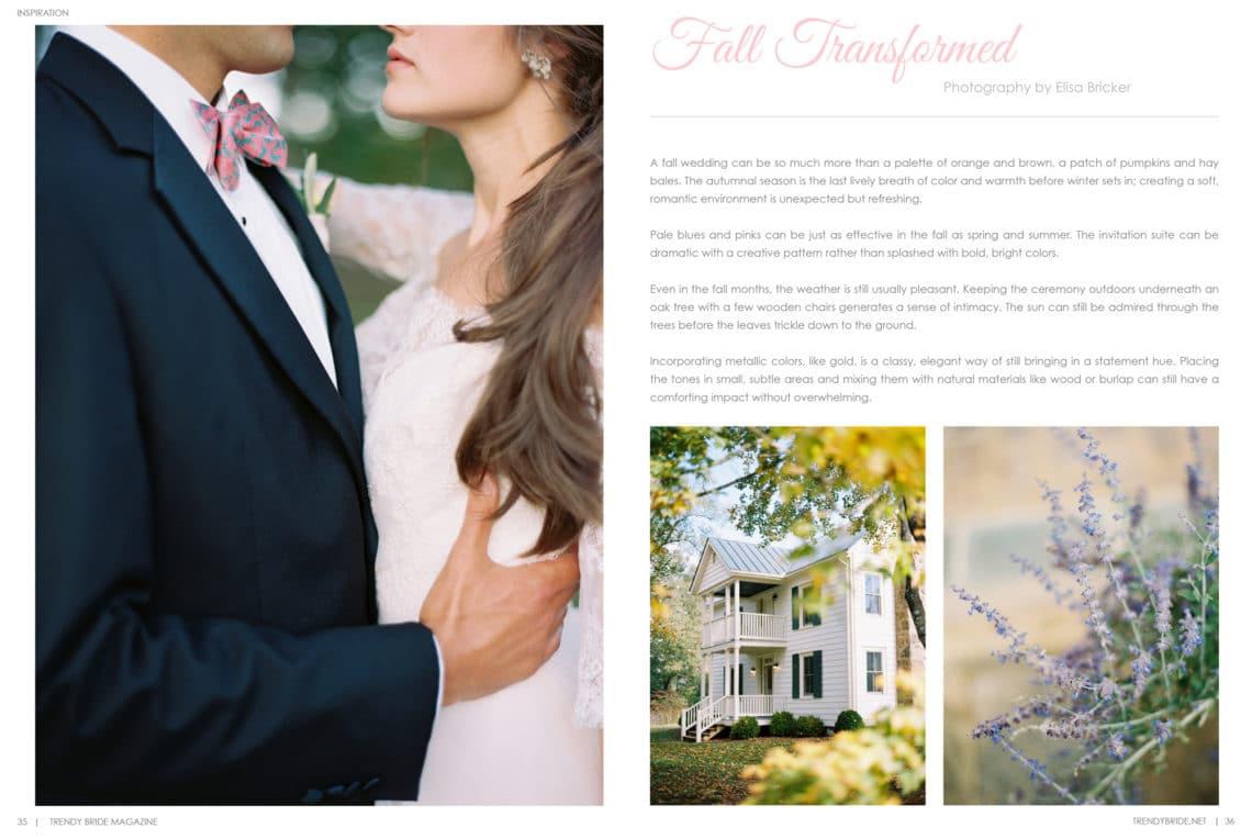 Trendy Bride Magazine